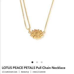 Alex and Ani pull chai necklace